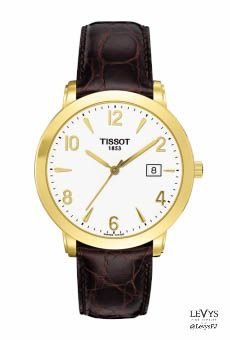 T71_3_450_34- SCULPTURE LINE GENT #Tissot #TGold