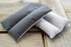 Organic Flax Seed or Rice Heating & Cooling Pad by redheadnblue