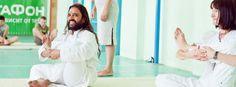 Yoga poses by Dinesh Kashikar - Sri Sri Yoga Teacher