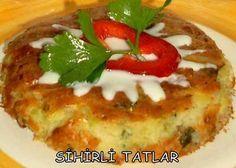 Fırında Kabak Mücver Tarifi | Yemek Tarifleri Sitesi - Oktay Usta - Harika ve Nefis Yemek Tarifleri