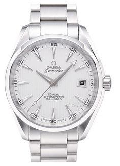 Omega Seamaster Aqua Terra Steel Silver Dial