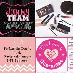Would love to have you on my team!!! But make up and make money ladies!! And 14 day return policy NOTHING TO LOOSE