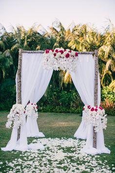 Gorgeous wedding ceremony; Featured Photographer: Mi Belle Photographers