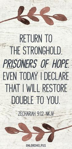 To hope in God is more than a wish. It is a longing and an expectation. It is this hope that sustains us through darkness. How do we live as prisoners of hope?