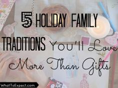 5 holiday traditions that will help your family make happy memories