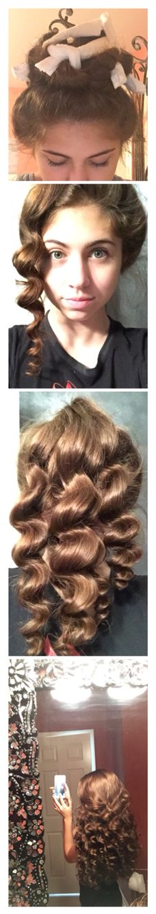 how to keep curls overnight short hair