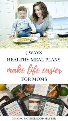Feeding my family healthy meals is important to me, but the time it takes to do so can feel overwhelming. That's why I love using healthy meal plans. I have discovered five ways healthy meal plans make life easier for moms.