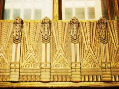 #ArtDeco | Exterior detail, William Fox Building, Los Angeles, California