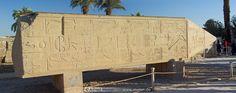 28 Fallen obelisk of Hatshepsut  Karnak