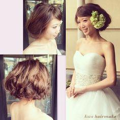 この画像は「幸せいっぱいな結婚式♡目立ちたい女子におすすめのヘアアレンジ」のまとめの8枚目の画像です。