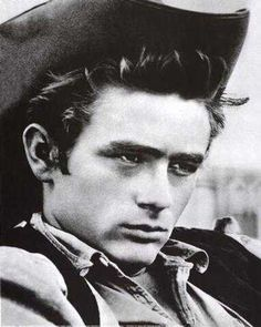 james dean in Giant. Great movie