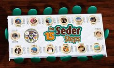 15 Steps of the Passover Seder- Great for explaining Passover to children! I can just see Yeshua in all the symbolism!