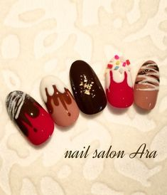 短い爪に小さなチョコ♡食べたくなっちゃうショートネイルデザイン - Yahoo! BEAUTY