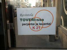 Toveri Helsinki, Signs, Decor, Decoration, Shop Signs, Decorating, Sign, Deco