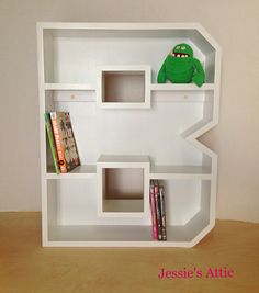 A-Z Letter Shelf. Letter B by Jessie's Attic