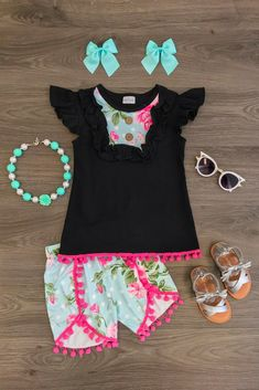 Carlee Shortee Set