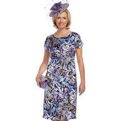 Jacques Vert Print Wrap Print Dress- at Debenhams.com
