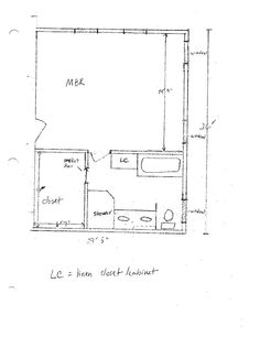 Photo Gallery For Website master bathroom and closet layouts sketch for master bath layout bathrooms forum gardenweb Master Bathroom and Closet Layouts sketch for master bath layout