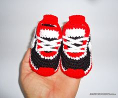 Baby Sneakers Crochet Shoes Baby Crochet by BABYCROCHETfashion