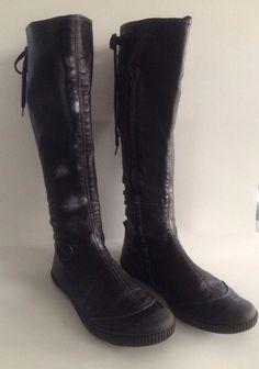 b1ad27ec7a2 Pataugas Leather Flat Boots Size: 41 EU/9 US #Pataugas #