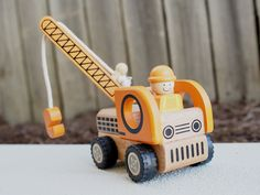 Kids Toys to You | Kids Toys to You Wooden Crane Truck - Construction Vehicles - CARS, PLANES & TRAINS Kids Toys to You - $19 at www.kidstoystoyou.com.au