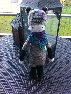 cat mod made by Pamela L. W. / based on a crochet pattern by lalylala