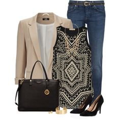 Blazer by immacherry on Polyvore featuring moda, Mara Hoffman, Wallis, RED Valentino, Lipsy, Henri Bendel, Forever 21, H&M, Tory Burch and Dorothy Perkins