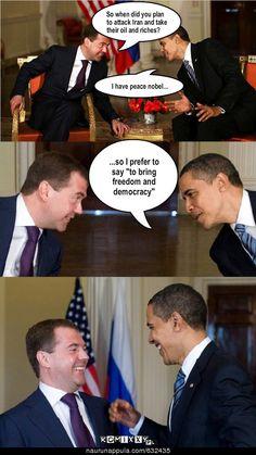 Medjedev & Obama
