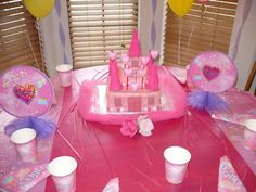 for my daughter's 4th Princess  birthday