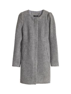 Wool-blend coat, $79.95; H&M.