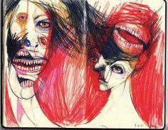 DIRTY MOLESKINE Artist Marina González Eme(behance)