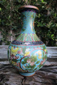 Colorful Cloisonne Vase