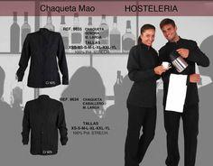 2e4a64e1535 Modelos De Blusas, Tipos De Ropa, Uniformes Camareros, Blusas Camisas,  Chaquetas,