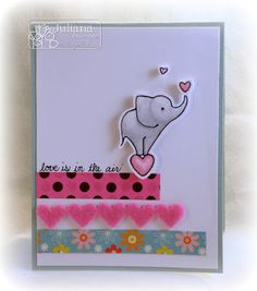 Stampin with Inky Fingers: Love is in the air...