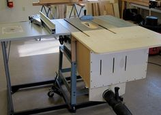 Another contractor saw dust collection quandry - by cdaulton @ LumberJocks.com ~ woodworking community