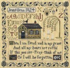 Jenny Bean's Halloween Sampler (Shakespeare's Peddler), via Flickr.