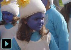 Centenas de crianças brincam ao Carnaval na cidade da Póvoa de Varzim