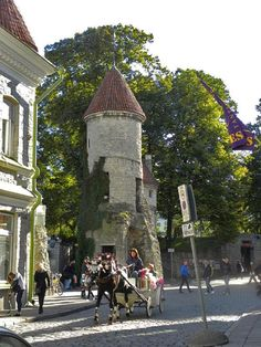 Tallin, Estonia.  No wonder so many people still visit it today!