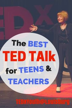 Ted Talk for Teens Dr. Julie Connor inspires you to be proud of who you are Student Leadership, Leadership Activities, Youth Activities, Teacher Resources, Leadership Lessons, Teacher Tips, High School Counseling, School Classroom, School Teacher