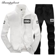 5cb3a4652ce4b2 2017 Spring Tracksuit Men Sweat Sporting Suit Brand Hoodies Men Sportswear  Hip Hop Sweatshirt Men Jogger Suits For Masculino