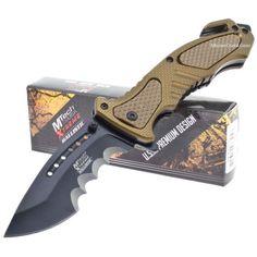 MTech Xtreme Ballistic MX-A800TN A/O Folding Rescue Knife | MooseCreekGear.com | Outdoor Gear — Worldwide Delivery! | Pocket Knives - Fixed Blade Knives - Folding Knives - Survival Gear - Tactical Gear