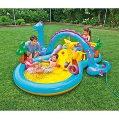 Intex Dinoland Play Center Swimming Pool 118in x 90in x 44in -- Click on the image for additional details.Note:It is affiliate link to Amazon.