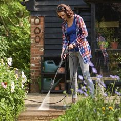 Buy the Bosch Universal Aquatak 125 Pressure Washer Plus Car Kit at Robert Dyas online. Cooker Hoods, Wash Brush, Outdoor Garden Furniture, Kit Cars, How To Make Light, Car Cleaning, Car Wash, Washer, Grasses