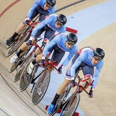 The Canadian National Team won against Argentina at Championships yesterday, earning the chance to race for gold this evening against . Way to go guys! Let's cheer them on together: write your best wishes in the comments below! (Regram from Track Cycling, Going For Gold, Champs, Athlete, Bicycle, Racing, Guys, Cheer, Events