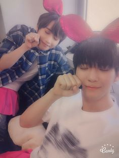 """160904 @madtown_camp twitter update  """"[#Daewon #Heojun] #MADTOWN and #Madpeople have been together for 700 days ♡ Always very grateful, so thank you again. Let's see each other for 70000000 more days, I love you ♡ #MADTOWN"""""""