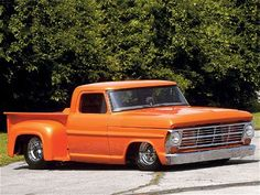 1967 - 1972 & Larger F-Series Trucks - pics of lowered ford trucks? - Can anyone post pics of their ford trucks that have been lowered? Classic Ford Trucks, Old Ford Trucks, Pickup Trucks, Hot Rod Trucks, Cool Trucks, Cool Cars, Old Pickup, Pickup Lines, Sport Truck