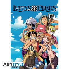 ONE PIECE Poster One Piece Luffy's Pirates (98x68)