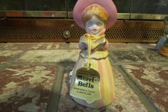 vintage porcelain bell by MyVintageAngels on Etsy, $24.00