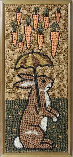 Seed Art by Susan Van Westen Minnesota State Fair 2013