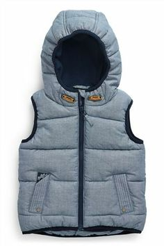 Buy Chambray Gilet (3mths-6yrs) from the Next UK online shop